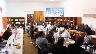 اجتماع مدرسة الاجلاء للتعليم الأساسي