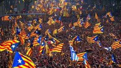 صورة ضربة للحركة الانفصالية في كتالونيا