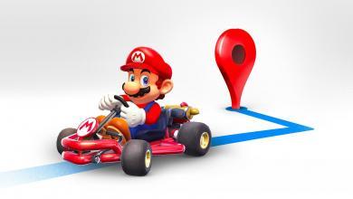 Photo of ماريو يرافقك في خرائط جوجل