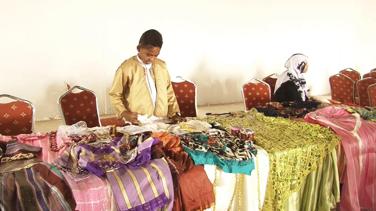معرض التراثيات والمشغولات اليدوية الخاصة بالمرأة في بلدية تراغن