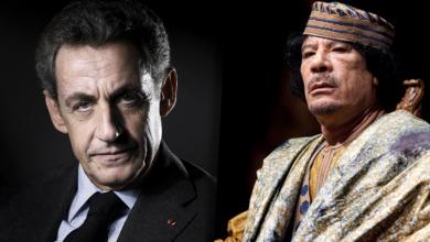 """صورة """"لعنة أموال القذافي"""" تطارد """"ساركوزي"""" أمام القضاء.. مجددًا"""