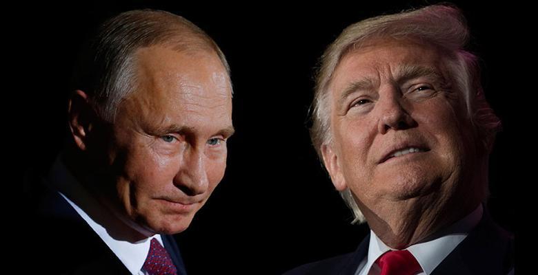 دونالد ترامب وفلاديمير بوتين