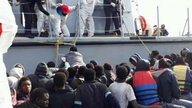 إنقاذ مهاجرين بالقرب من صبراتة وزوارة