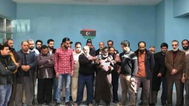 اعتصام موظفي الصرف الصحي في طبرق