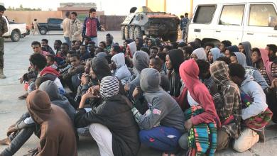 نقل مهاجرين من رقدالين إلى الزنتان