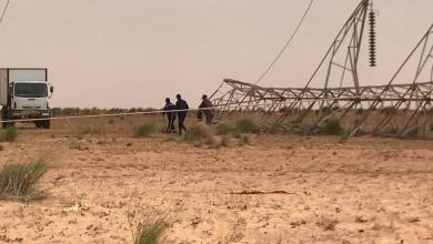 تركيب أبراج كهرباء جديدة بمنطقة الهبلية