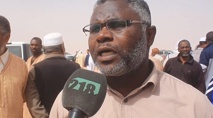 رئيس رابطة جرحى ومفقودي تاورغاء، محمد رضوان