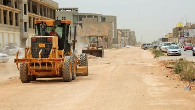 Photo of تجهيزات لاستكمال الطريق الدائري في بنغازي