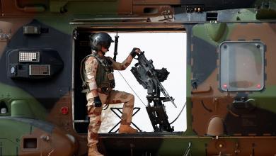 جندي فرنسي في مالي