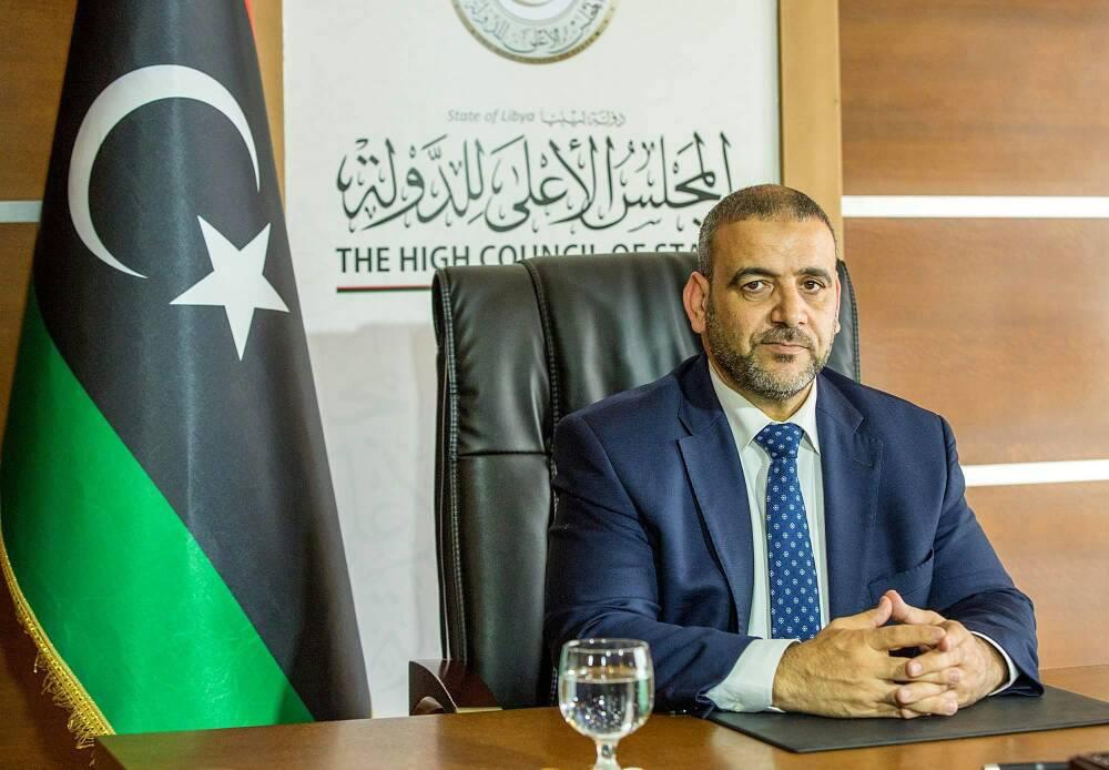 رئيس المجلس الأعلى للدولة خالد المشري