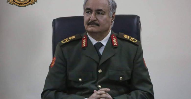 المشير خليفة حفتر - أرشيفية