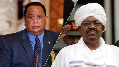 الرئيس السوداني عمر البشير وزير خارجيته إبراهيم غندور
