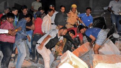 قتلى ومصابون إثر انهيار فندق في الهند