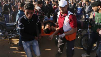 مواجهات مع الجيش الإسرائيلي على حدود غزة