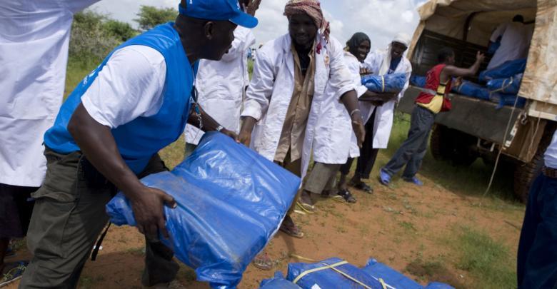 موظفي الإغاثة - جنوب السودان