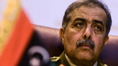 رئيس الأركان العامة اللواء عبدالرازق الناظوري