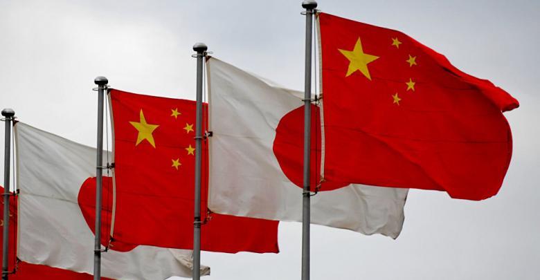 اليابان والصين
