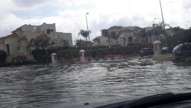 صورة أزمة نتيجة مياه الأمطار في مصر.. والسيسي يعلّق