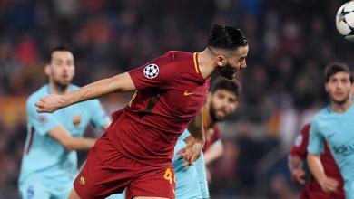 برشلونة ضد روما في ربع نهائي من دوري أبطال أوروبا