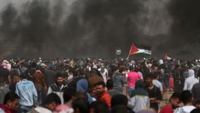 Photo of قتيل ومئات المصابين في احتجاجات فلسطينية