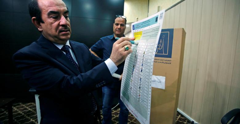 رئيس الإدارة الانتخابية بالمفوضية العليا المستقلة للانتخابات العراقية رياض البدران