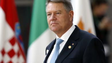 رئيس رومانيا كلاوس يوهانيس