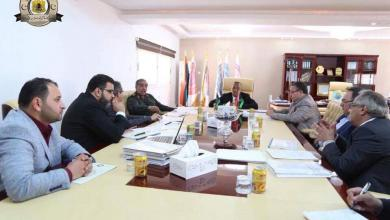 اجتماع لجنة إعادة استقرار بنغازي