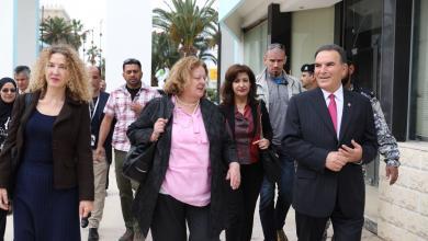 منسقة الامم المتحدة للشؤون الانسانية في ليييا ماريا ريبيرو