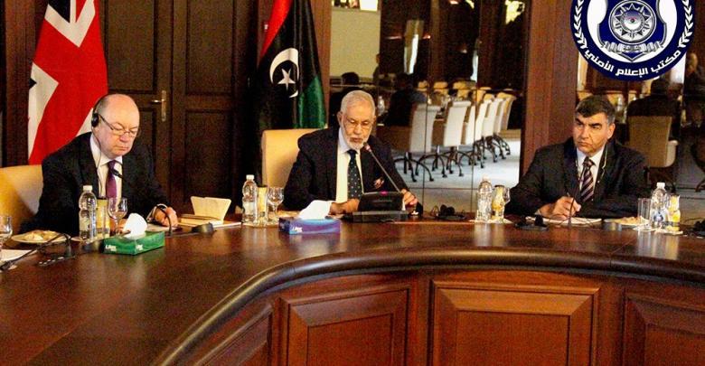 وزراء الداخلية والخارجية والعدل بحكومة الوفاق