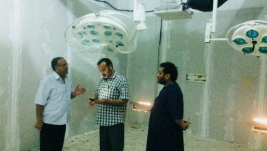 صورة صحة المؤقتة تتفقد خدماتها ببنغازي وتاكنس