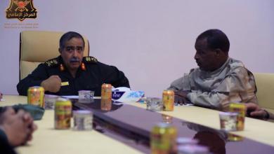 اللواء ونيس بوخمادة والفريق عبد الرازق الناظوري
