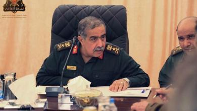 رئيس الأركان العامة للجيش الوطني عبد الرزاق الناظوري