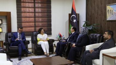 السفيرة الفرنسية لدى ليبيا، بريجيت كرومي السفيرة الفرنسية لدى ليبيا، بريجيت كرومي