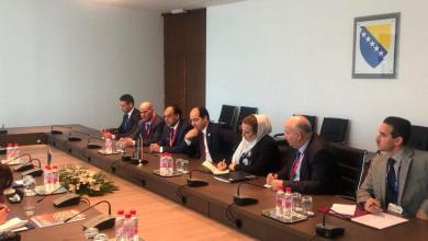 النائب أحمد معيتيق يجتمع مع نائب رئيس الوزراء وزير الاقتصاد والتجارة الخارجية بجمهورية البوسنة والهرسك