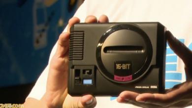 جهاز الألعاب المصغر Mega drive