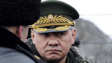 وزير الدفاع الروسي
