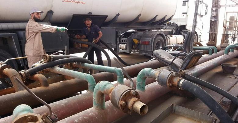 وصول أولى شاحنات الوقود إلى مدينة سبها