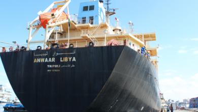 "Photo of ""أنوار ليبيا"" تضخ 34 مليون لتر وقود بخزانات البريقة"