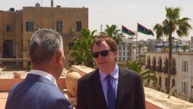 زيارة السفير البريطاني لدى ليبيا، فرانك بيكر المدينة القديمة بطرابلس