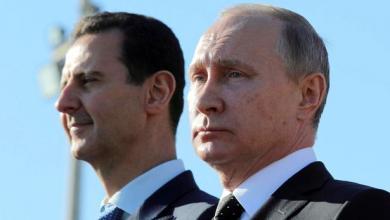 بشار الأسد وفلاديمير بوتين