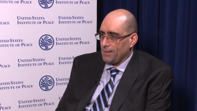 رئيس قسم الشرق الأوسط وشمال أفريقيا بمركز الولايات المتحدة للسلام/ واشنطن، د. إيلي أبو عون