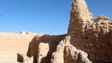 قصر المناشي في أم الحمام بأوباري