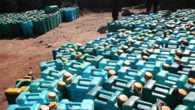 صورة إحباط عملية تهريب وقود ليبي إلى تونس