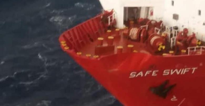 نتيجة بحث الصور عن سفينة تصطدم بمنصة صبراتة ولجنة للتحقيق