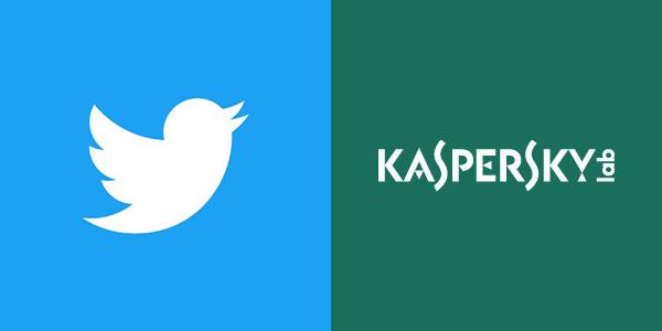 تويتر وشركة كاسبيرسكي لاب الروسية