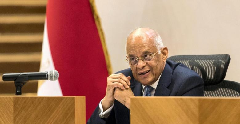 رئيس مجلس النواب المصري علي عبد العال