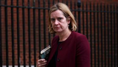 استقالة وزيرة الداخلية البريطانية آمبر رود