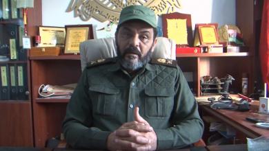 آمر كتيبة شهداء الزاوية العقيد جمال الزهاوي