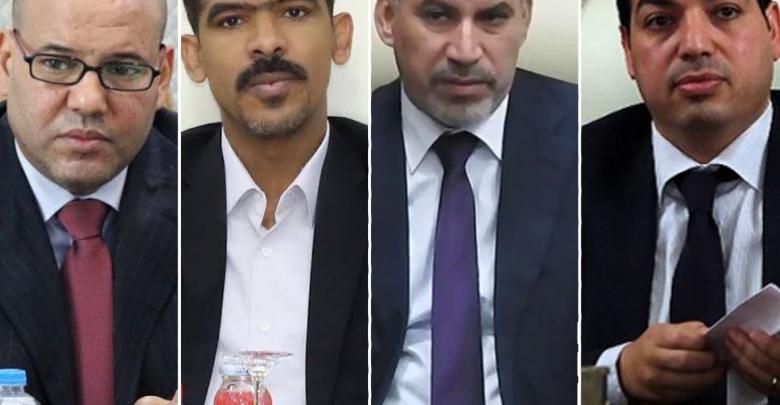أحمد معيتيق - عبدالسلام كاجمان - أحمد حمزة - فتحي المجبري
