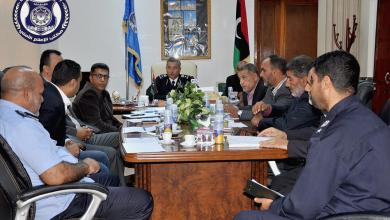 اجتماع أمني لحماية الآثار الليبية